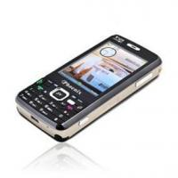 China TV Cell Phone Quad Band + Dual Sim Card Function on sale
