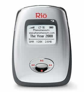 China Music Players Rio Carbon 5 GB MP3 Player
