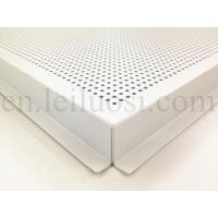 Buy cheap Straight Pattern Perforated Aluminum Ceiling Tile product