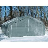 Buy cheap 22'x 24'x 12' PREMIUM Multi-Horse Peaked Style Mini-Barn, Run-In Shelter or Farm Storage![2422SK] product