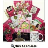 China Mother's Day Gift Baskets - Warm Thoughts Coffee 2013 on sale