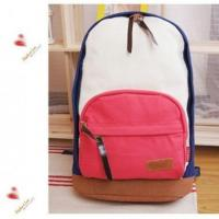 Buy cheap wholesale Korean Fashion Preppy Style Cavans School Backpack#A02-0017 product