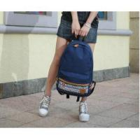 Buy cheap Wholesale Canvas Korean Style Japan Snowflake Design Backpack School Bag#A02-0065 product