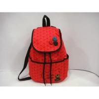 Buy cheap Wholesale Fashion Colorful Dot Thick Canvas Shoulder School Bag#A02-0036 product