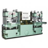 Buy cheap Rubber silicone molding machine Products Sliding Plate Type Compression Machine product