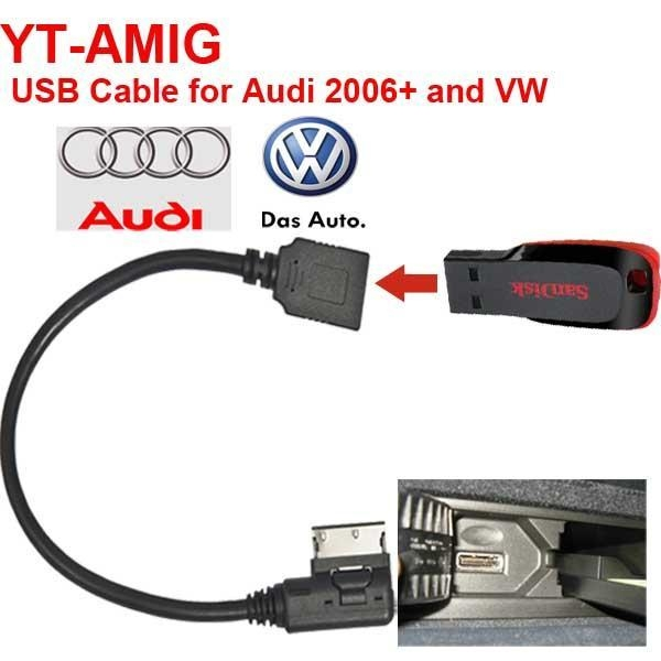 Vw Mdi Ipod Cable Audi Mmi Cable For 4f0051510k: Images Of Vw Mk5
