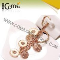 Fancy keychains FK-0154 Traditional Coin Metal Fashion Fancy Keyrings