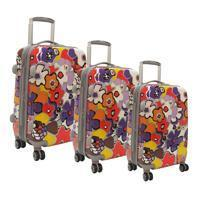 Buy cheap Olympia Blossom Hardside 3 Piece Luggage Set product
