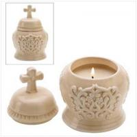 Buy cheap CANDLES AND SCENTS Cathedral Lidded Candle[14372] from wholesalers