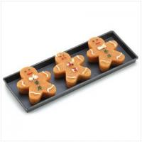 Buy cheap CHRISTMAS HOLIDAY Gingerbread Cookie Candle Trio[14411] from wholesalers