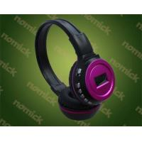 China SD/TF Card Headphone Mp3 Player headphone with FM... on sale
