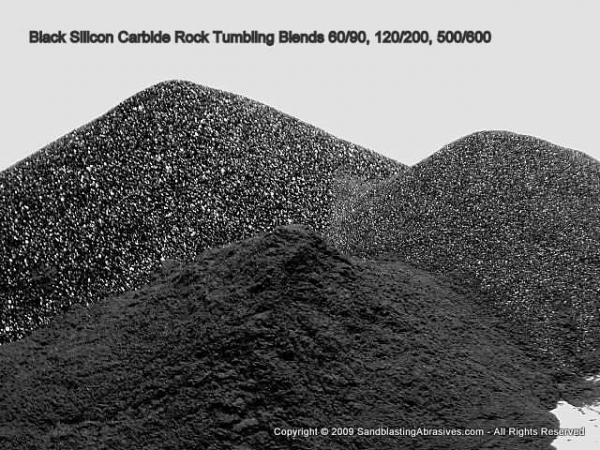 Popular Images Of Silicon Carbide Black Rock Tumbling