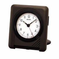 Buy cheap Seiko Thin Grey & Black Travel Clock product