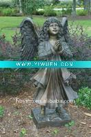 Buy cheap Artificial Crafts(970) Beauty angel in the garden sculpture product