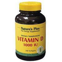China Natures Plus Vitamin D 1000 IU 180sgels on sale