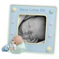 """Buy cheap Precious Moments: """"Jesus Loves Me"""" Frame product"""