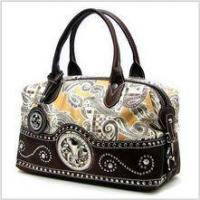 Buy cheap Fleur-de-lis Paisley Satchel product