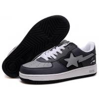 Buy cheap Bape New and Better shoes black / gray from wholesalers