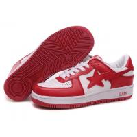Buy cheap Bape New and Better shoes red / white from wholesalers