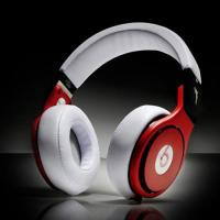 Buy cheap Beats Pro High Performance Professional Headphones white red from wholesalers