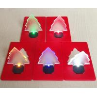 Buy cheap safety light Christmas card light from wholesalers
