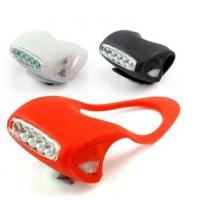 Buy cheap safety light 5 leds bicycle silicone light from wholesalers