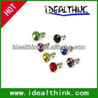 Buy cheap Item Diamond Anti Dust 3.5mm Earphone Jack Plug Stopper for iPhone 4 4S Galaxy product