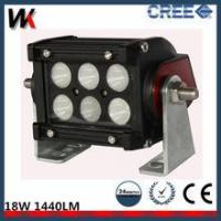 Buy cheap High Brightness Two Row 4 Inch C REE 18W Led Offroad Light Bar product