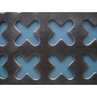 Cheap protective galvanized perforated sheet fence wholesale