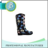 Buy cheap Newest Design Butterfly Print Rain rubber shoes snow grips product