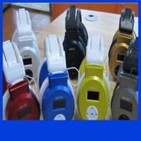 China E011 Stereo Headphone MP3 Player Headset TF Card and Music Play Headset style Mp3 Player on sale