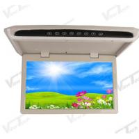 Buy cheap Manually Flip Down Monitor 15.6 inch Slim Coach Roof Monitor product