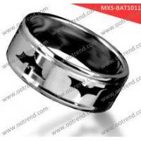 Buy cheap Pretty Brushed domend men stainless steel rings product