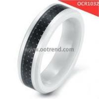 Buy cheap Black and white hot sale ceramic rings product