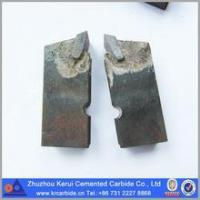 OEM Tungsten Carbide Saw Tips For Stone Breaking Made Of Cemented Carbide