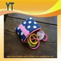Buy cheap Blue And Pink Polka Dot Baby Pacifier Bag,Baby Pacifier Clip,Baby Pacifier Holder product
