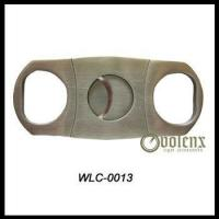 Buy cheap Double Blade Stainless Steel Cigar Cutter product