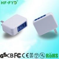 Buy cheap with folding plug USA JP FY0502000 5V 2A usb power adapter product