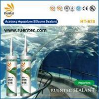 China Acetoxy Sealant RT678 Acetic Silicone Aquarium Sealant on sale