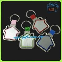 Buy cheap rotatable blank metal acrylic keychain product