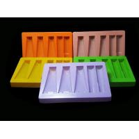 Customized Clear Cosmetic Blister Plastic Packaging Tray With Dividers