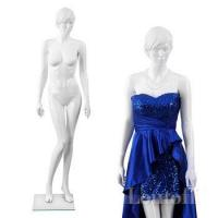 Buy cheap full body white glossy realistic sexy female mannequins from wholesalers