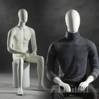 Buy cheap New arrival sitting men mannequins for window display shop from wholesalers