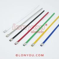PVC Coated Ball-Lock Cable Ties