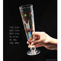Buy cheap Glass Beer Stein 360ml Glass beer stein from wholesalers