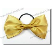Buy cheap Ribbon Bows on Bottle satin bow tie with elastic for perfume bottle product