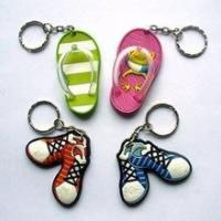 Buy cheap 3d mini running soccer shoe keychain wholesale for gifts items from wholesalers