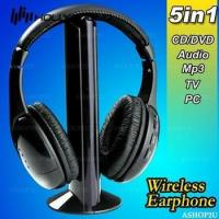 China wireless audio monitor,mp3 player wireless headphone with fm radio on sale