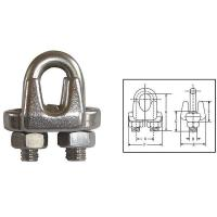 Buy cheap G450 US Type Drop Forged Wire Rope Clips product