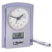 China Dual Analog and Digital Clock and Calendar - Closeout Services Corp. on sale